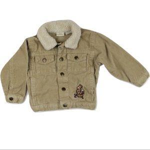 Classic Winnie the Pooh Corduroy Jacket
